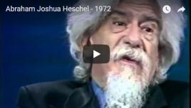 heschel youtube